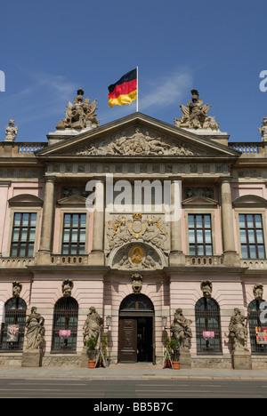 Berlin Germany Exterior of German Historical Museum Deutsches Historisches Museum on the Unter den Linden - Stock Photo
