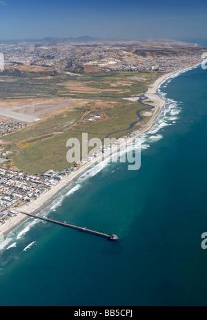 Tijuana River National Estuarine Research Reserve - Stock Photo