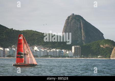 Puma, Volvo Ocean Race 2008-2009, Rio de Janeiro, Brazil - Stock Photo