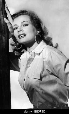 Ekberg, Anita, 29.9.1931 - 11.1.2015, Swedish actress,  circa 1960 , Additional-Rights-Clearances-NA - Stock Photo