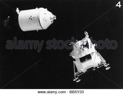 astronautics, Apollo 11, moon landing, miniature of ...