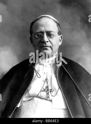Pius XI (Achille Ratti),31.5.1857 - 10.2.1939), Pope 6.2.1922 - 20.2.1939, portrait, 1920s, , Additional-Rights - Stock Photo