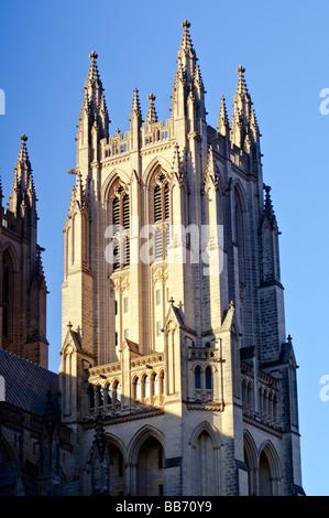 The Washington National Cathedral, Washington DC. - Stock Photo