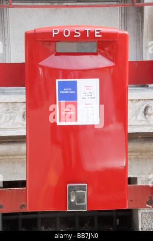 Mailbox, Verona, Veneto, Italy, Europe - Stock Photo