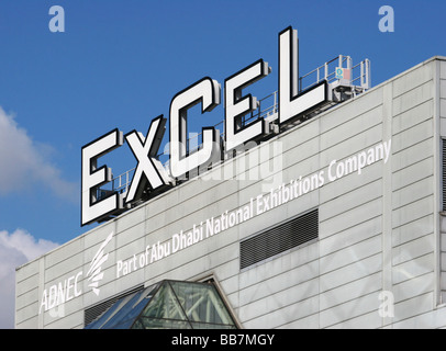 ExCeL centre London Docklands - Stock Photo