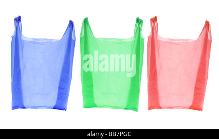 Plastic Shopping Bags - Stock Photo