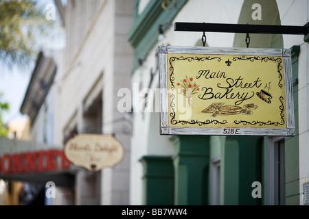 Main Street Bakery in Ventura, California - Stock Photo