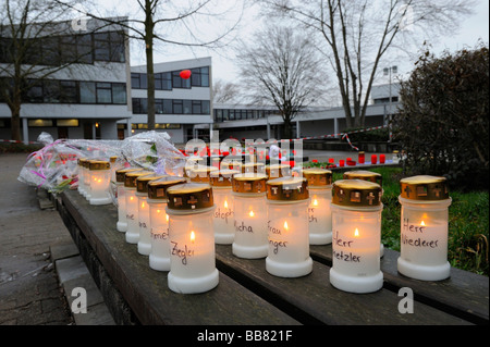 Rampage at Albertville Realschule school, Winnenden, Baden-Wuerttemberg, Germany, Europe - Stock Photo