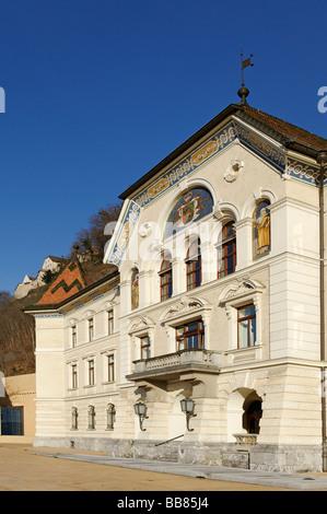 Vaduz, Liechtenstein principality, Europe - Stock Photo