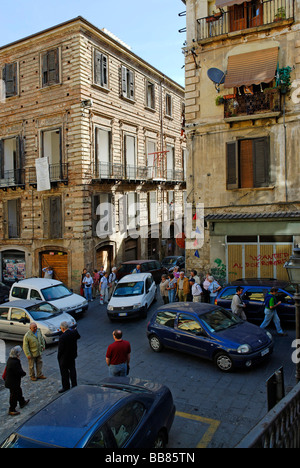 Old town, Cosenza, Calabria, Italy, Europe - Stock Photo