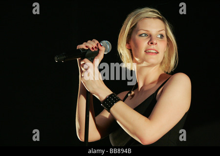 Eva Briegel, singer and frontwoman of the German rock and ...