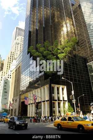 Trump Tower, New York, USA - Stock Photo