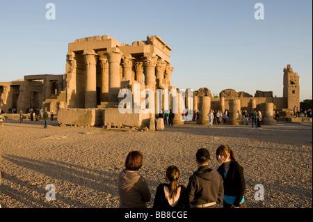 Kom Ombo Temple, Egypt, Africa - Stock Photo