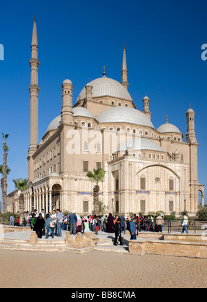 The Mosque of Muhammad Ali Pasha, Alabaster Mosque, Cairo, Egypt, Africa - Stock Photo