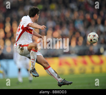 Christian Traesch, VfB Stuttgart, playing the ball - Stock Photo