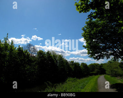 Forth and Clyde canal Bishopbriggs - Stock Photo