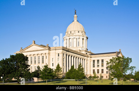 State Capitol of Oklahoma - Stock Photo