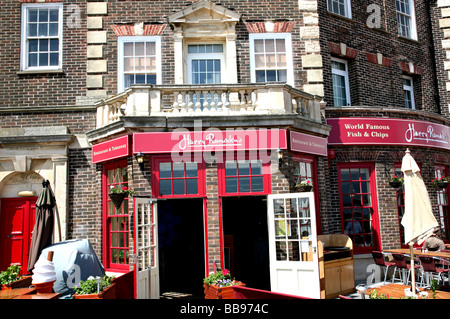 Harry Ramsden's fish chips Eastbourne Sussex - Stock Photo