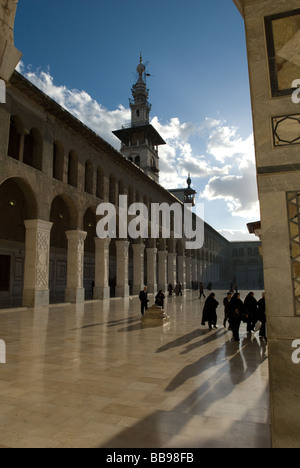 The Ummayad Mosque in Damascus, Syria - Stock Photo