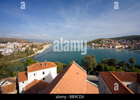 Trogir Dalmatian Coast Croatia Dalmatia - Stock Photo