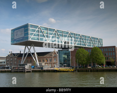 Headquarters of the Unilever corporation in Rotterdam the Netherlands - Stock Photo