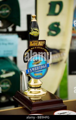 Cambridge beer festival - Stock Photo