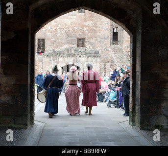 Homecoming Scotland Medieval Event at Linlithgow Palace, Scotland - Stock Photo