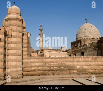 Egypt Cairo tomb of mohammad ali family city of dead - Stock Photo