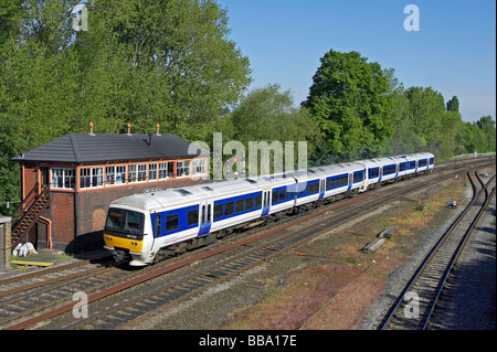 Chiltern Train Class 165 at Banbury - Stock Photo