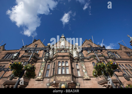 The Coventry City Council House in Coventry, West Midlands of England, United Kingdom - Stock Photo