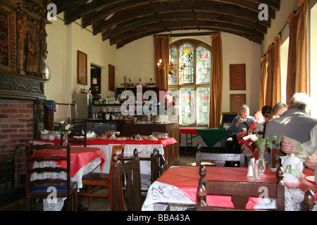 Tabley House tea rooms, Knutsford, Cheshire, UK - Stock Photo