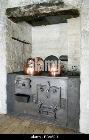Old kitchen range - Stock Photo