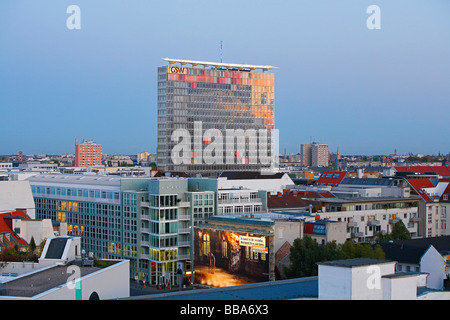 GSW high-rise building in Berlin, Germany, Europe - Stock Photo