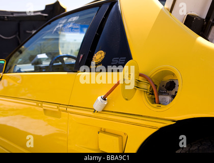 Electric car - Stock Photo