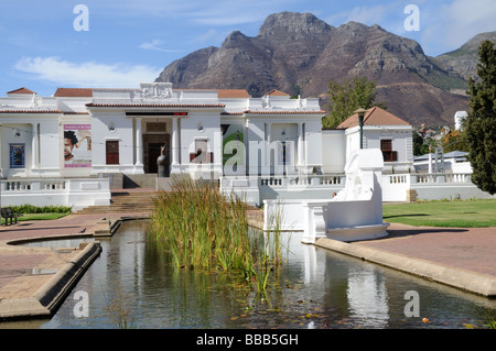 South African National Gallery company's Garden Cape Town south Africa - Stock Photo