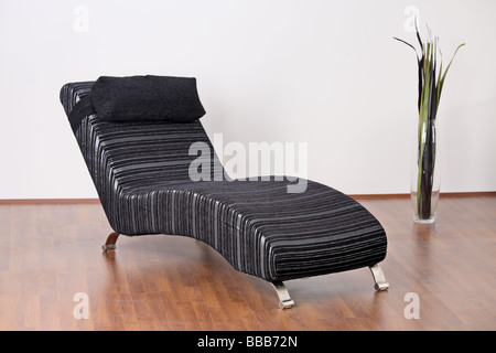 Image of a modern leather armchair - Stock Photo