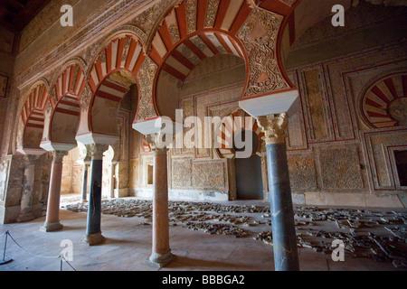 Reception Hall of Abd al-Rahman III Medina Azahara Madinat al-Zahra Stock Pho...