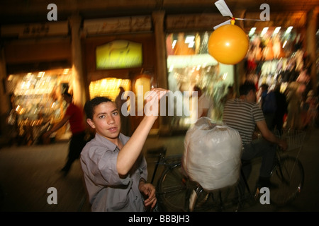 Toys for sell in the Hamidiyya Souq Damascus Syria - Stock Photo