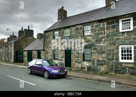 Lloyd George's birthplace, Llanystumdwy North Wales - Stock Photo