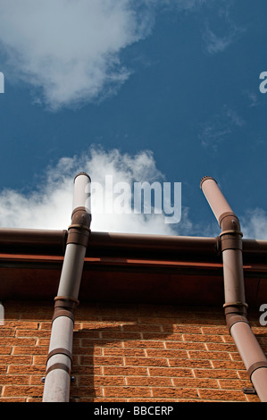 Ventilation Pipe On Modern House hat Lets Gases From he ... - ^