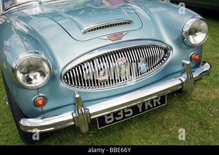 The Austin Healey 3000 Mark 2 vintage sports car at Wallingford Classic car Rally, Wallingford Oxfordshire UK - Stock Photo