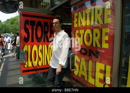 The Virgin Megastore in Union Square on Broadway in New York - Stock Photo