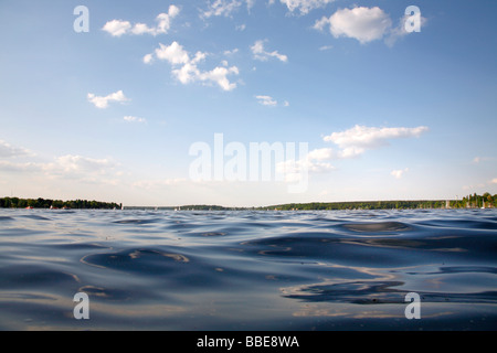 Wannsee Lake in Berlin, Germany, Europe - Stock Photo