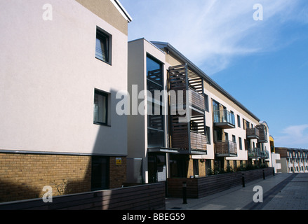 ENGLAND East Sussex Brighton modern apartment complex in City Point, a redevelopment of a brown field site. - Stock Photo