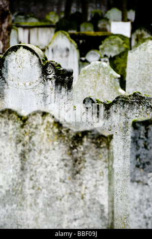 Bunhill Fields Cemetery, London, UK - Stock Photo