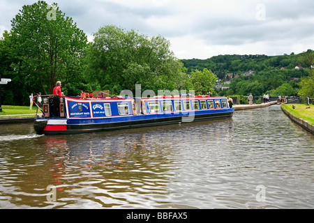Froncysyllte Trevor Basin Shropshire Union Canal 'Vale of Llangollen - Stock Photo