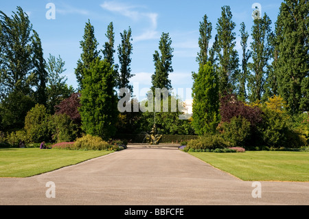 Queen Mary's Gardens in The Regent's Park London England UK - Stock Photo