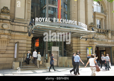 Exterior of the Royal Exchange Theatre on St Anns Square,Manchester