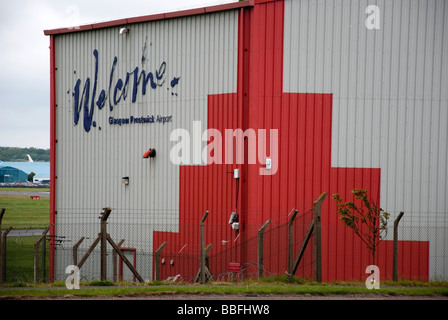 Glasgow Prestwick International Airport - Stock Photo