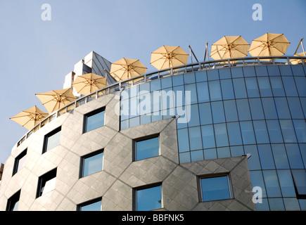 Vienna - modern architecture - Stock Photo